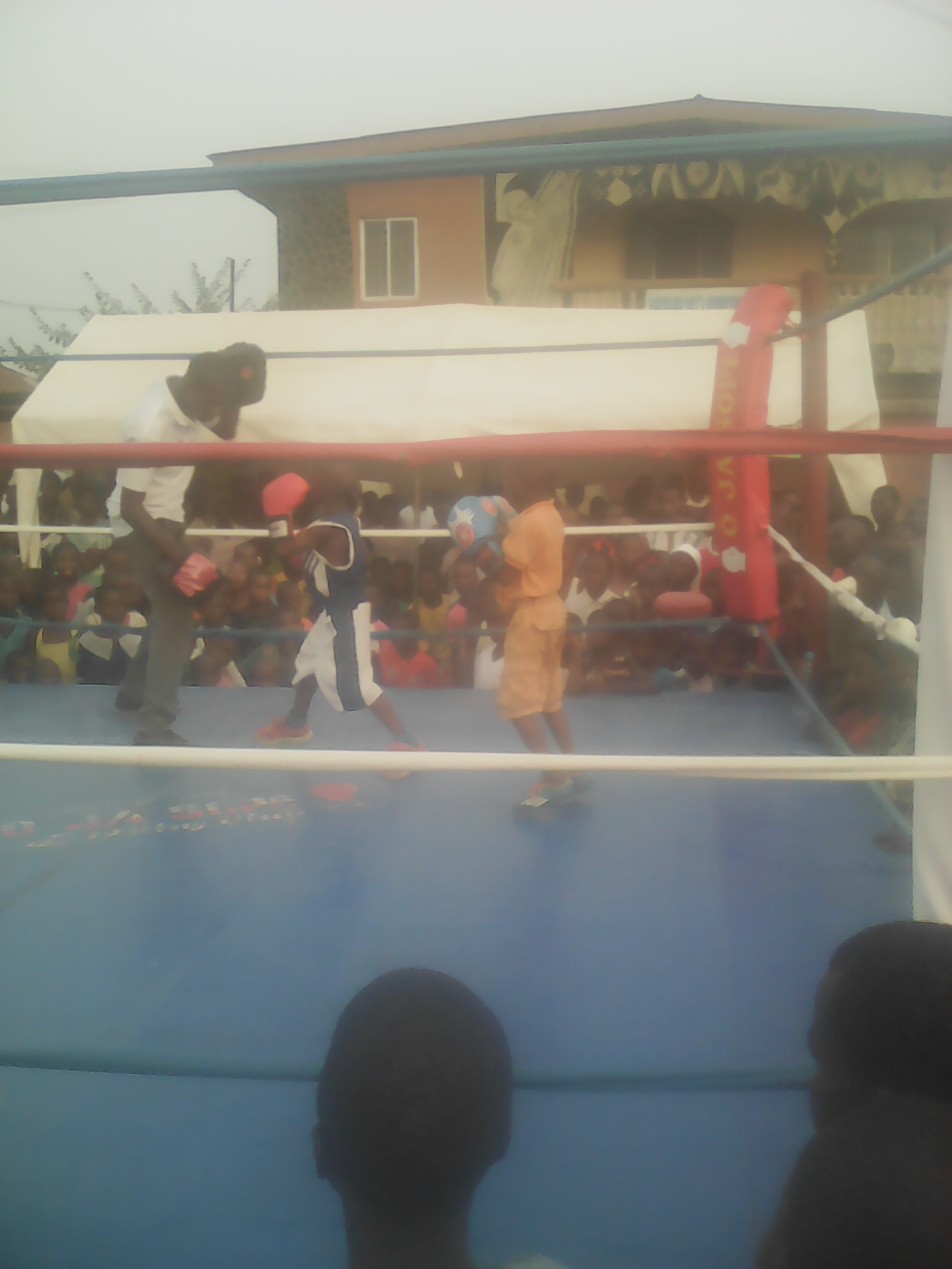 West African Boxing Champion, Waliu Arogundade Plays Host To Young Boxing Talents On Valentine's Day At Ota