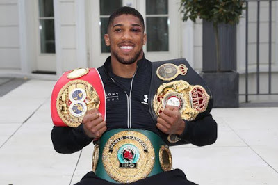 Ogun State Government To Name Stadium And Street After Anthony Joshua
