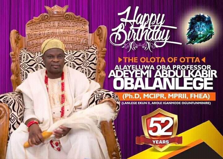Voice Of Awori, Mike Adenuga Joins Millions Of Others To Celebrate Olota @ 52