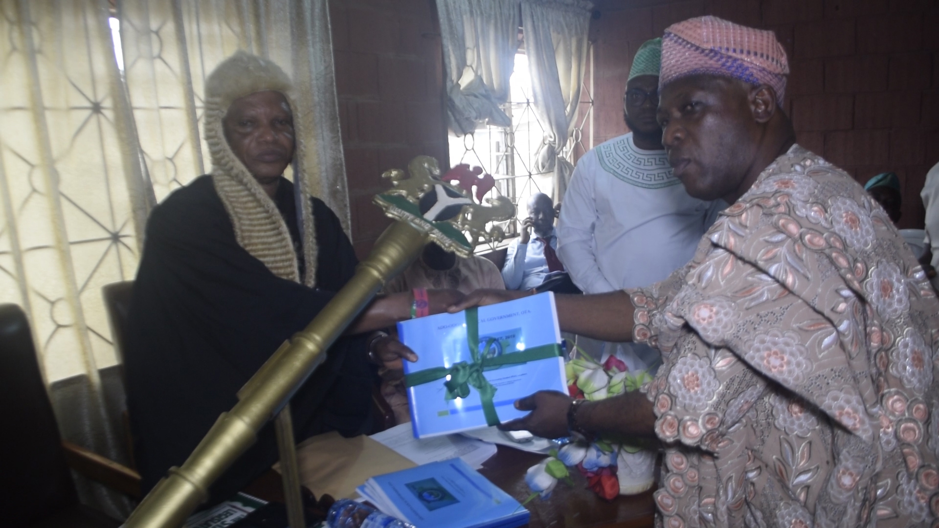 Breaking: Ado-Odo/Ota Local Government Presents 2019 Budget Of Consolidation