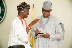 Amosun's Obas And Baales: Don't Let Anybody Put Undue Pressure On You – Olu Of Ilaro Tells Dapo Abiodun