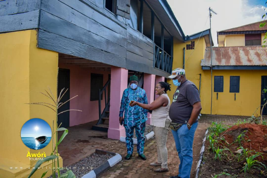 Awori Tourism: Ogun Commissioner For Culture And Tourism Pays Working Visit To 2nd Storey Building In Nigeria