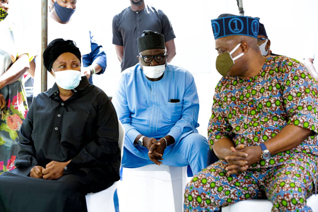 Lagos Assembly Members Pay Condolence Visit To Late Braimoh
