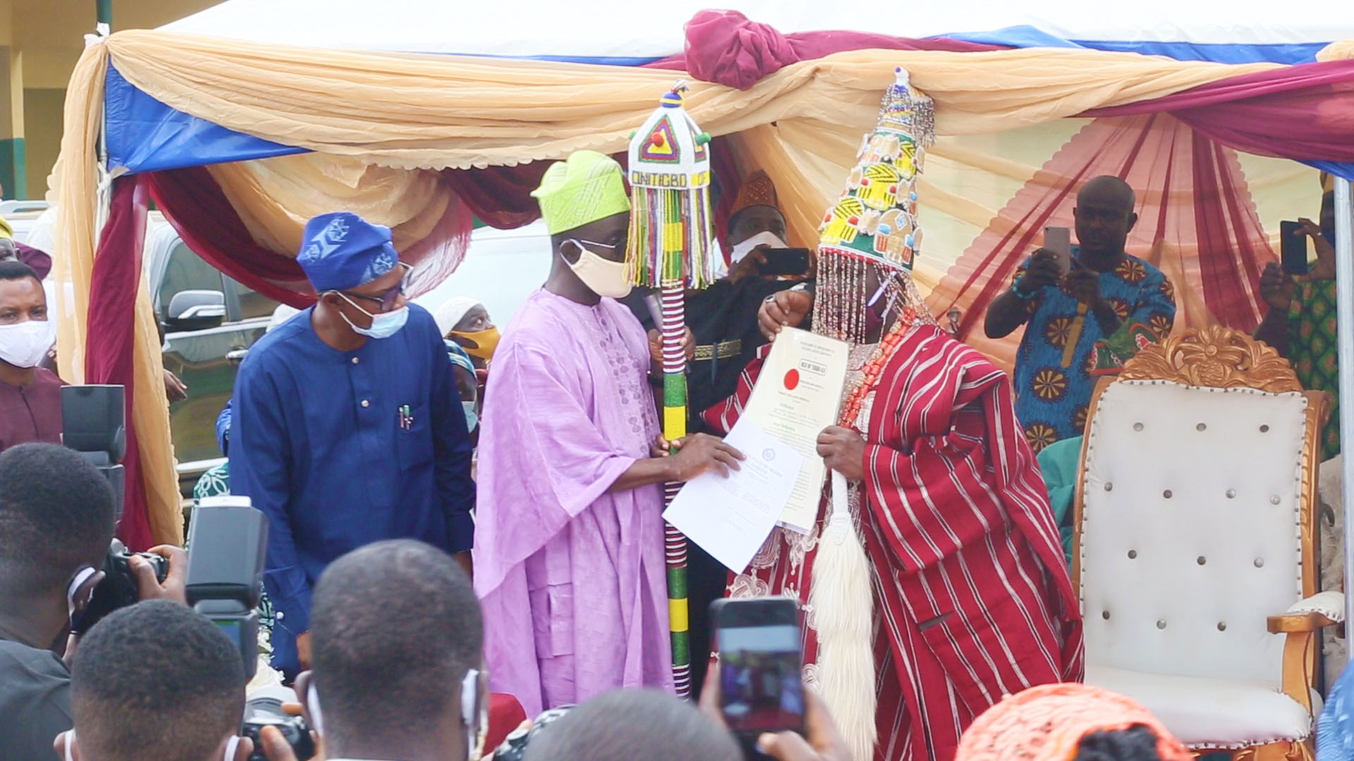 """Sheath Your Swords And Rally Round The New Onitigbo Of Tigbo-Ilu, Ota""- Prince Dapo Abiodun Advises Aggrieved Contenders"