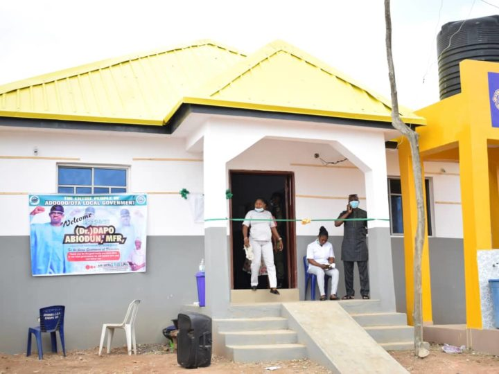 Ogun Governor, Prince Dapo Abiodun Commissions Project Built By Ado-Odo/Ota Local Government