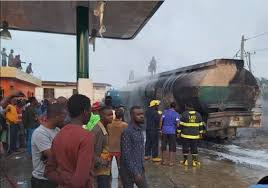 Shops, Transformer Razed As Tanker Explodes In Lagos