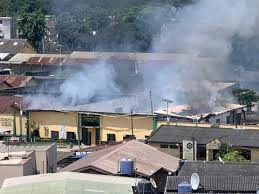 Ikoyi Correctional Centre Sets Ablaze, Angry Youths Attempt To Free Inmates