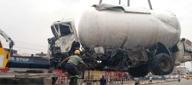 Man Dies In Accident Involving A Loaded Gas Tanker, An Empty Tanker