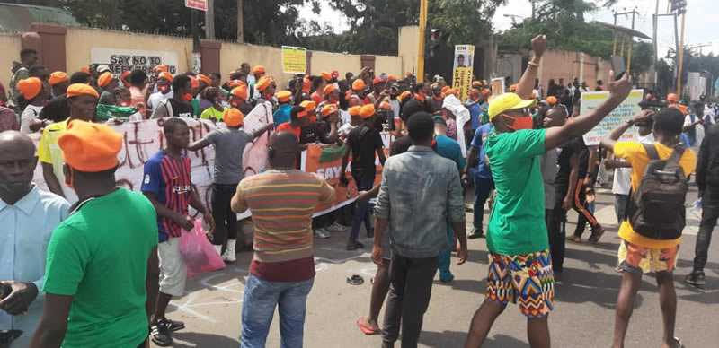#RevolutionNow Protest: 30 Protesters Arrested In Lagos