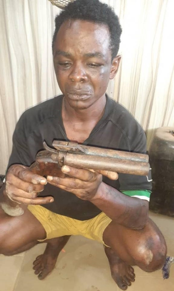 Ogun Police Nab Suspected Leader Of Cult Group During Robbery Operation