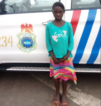 Officers On Patrol Rescue Girl Found Wandering Along 3rd Mainland Bridge