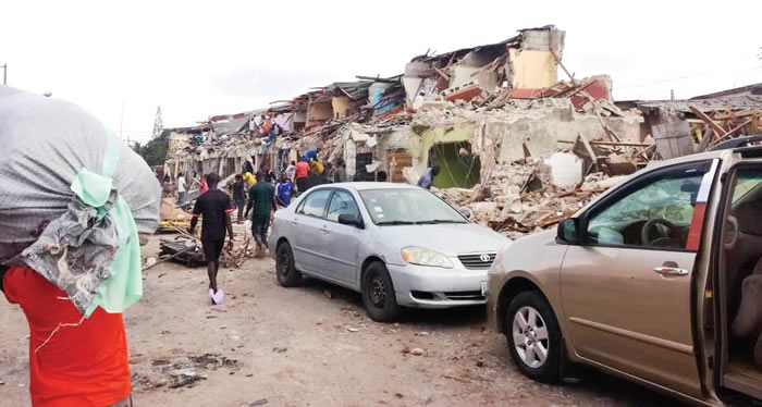 Traders Tackle LG Chairman Over Lagos Market Demolition