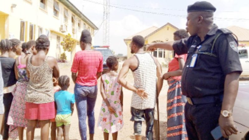 10 Pregnant Girls, Kids Rescued From Ogun Baby Factory