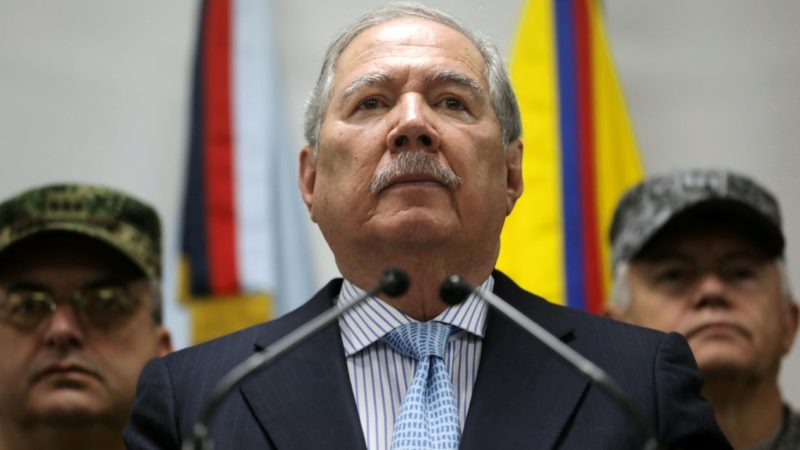Colombian Defense Minister Dies Of Covid-19 Complications – Official