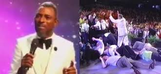 If You Fall Under Anointing And Break Anything, You Will Pay – Pastor Warns Church Members