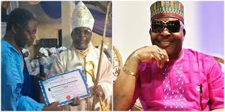 Sir Shina Peters Ordained As Bishop Of C&S Church