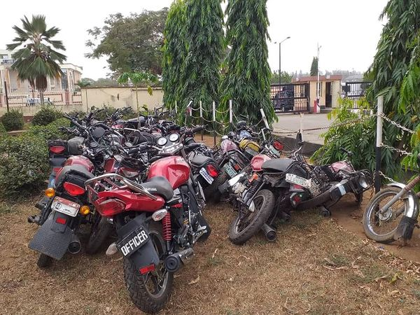 Police Burst Criminal Hideout In Mushin, Arrest 3 Kingpins, Impound Motorcycles