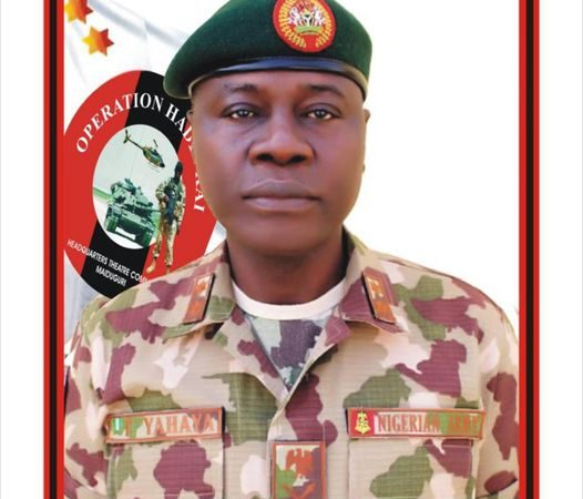 Breaking; President Buhari Appoints New Chief Of Army Staff
