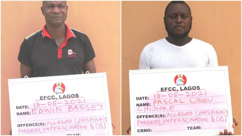 Fake EFCC Operatives Arrested In Lagos While Executing 'Court Order'