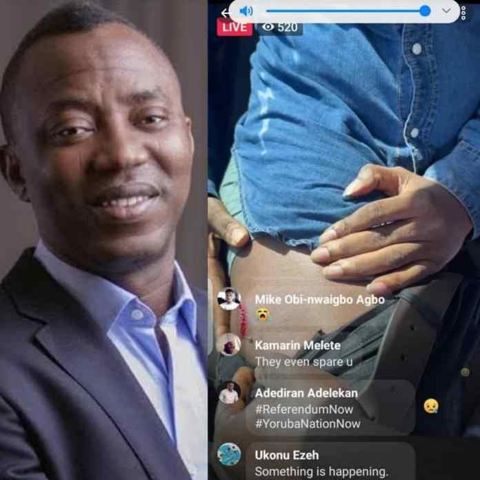 Sowore Injured By Tear Gas Canister At Abuja Rally