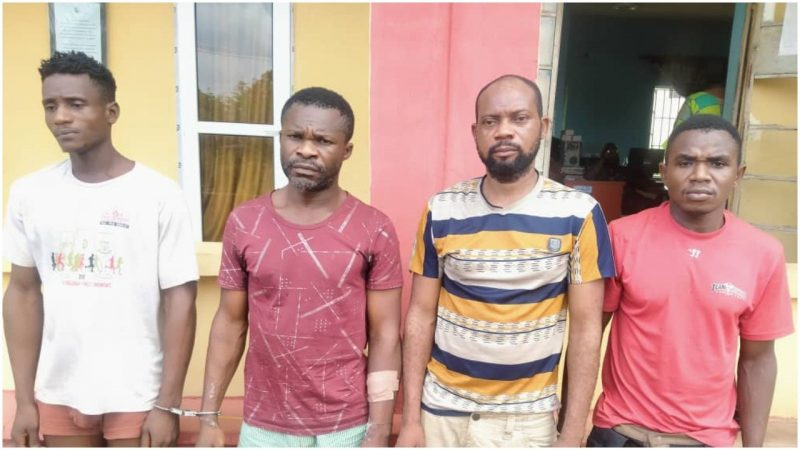 Four Arrested For Hijacking Truckload Of Golden Penny Flour