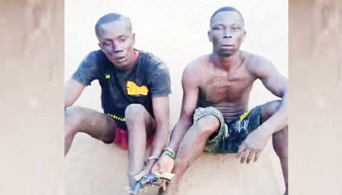 Two Suspected Robbers, Who Shot Motorcyclist, Nabbed In Ogun
