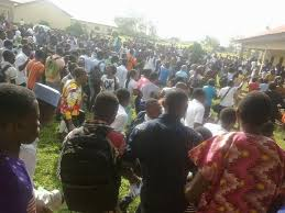 Poly Management Suspends Exams As Protesting Ogun Students Block Highway
