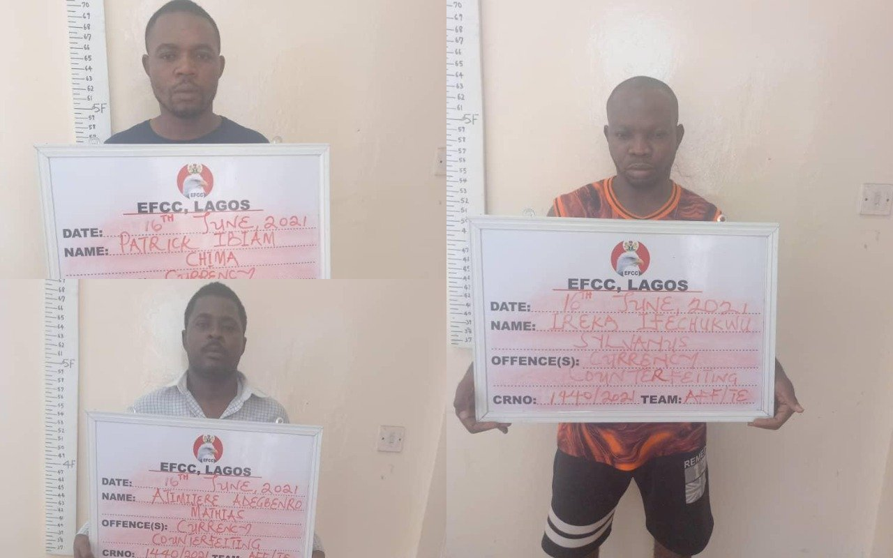 Nigerian Syndicate Arrested For Producing Fake Foreign Currencies