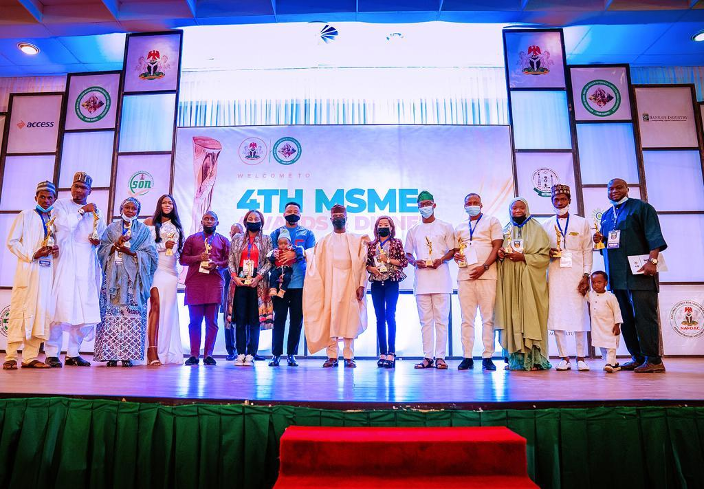 Osinbajo @ 4th MSMES Awards: We Are Encouraged By Innovation, Resilience Of Young Nigerians