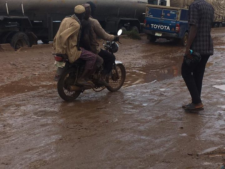 Motorists, Commuters Lament Hardship Caused By Road Rehabilitation At Old Toll Gate, Ota