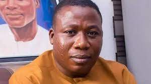 Breaking: Sunday Igboho Cancels Lagos Yoruba Nation Rally After Attack, Wife's Kidnap