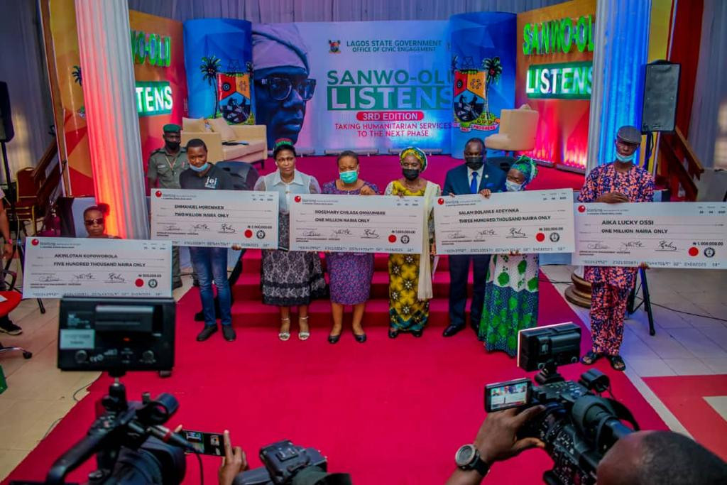 Princess Aderemi Adebowale Hails Governor Sanwoolu At Event To Empower 50 Lagosians