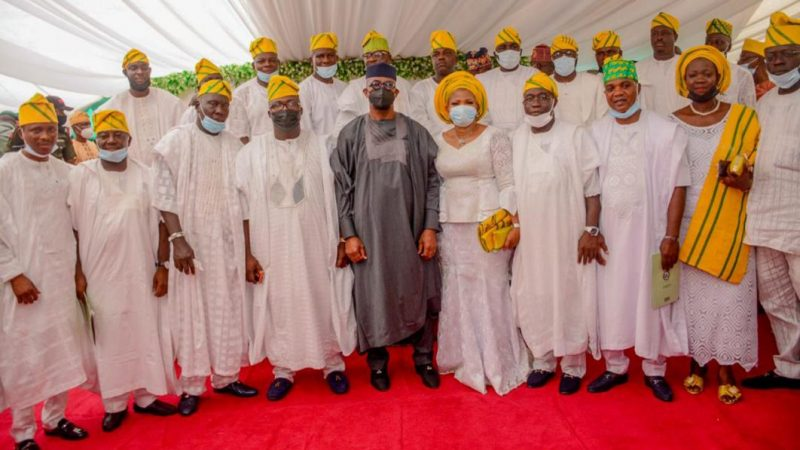 Ogun State Governor, Abiodun, Swears In Newly-Elected Council Chairmen