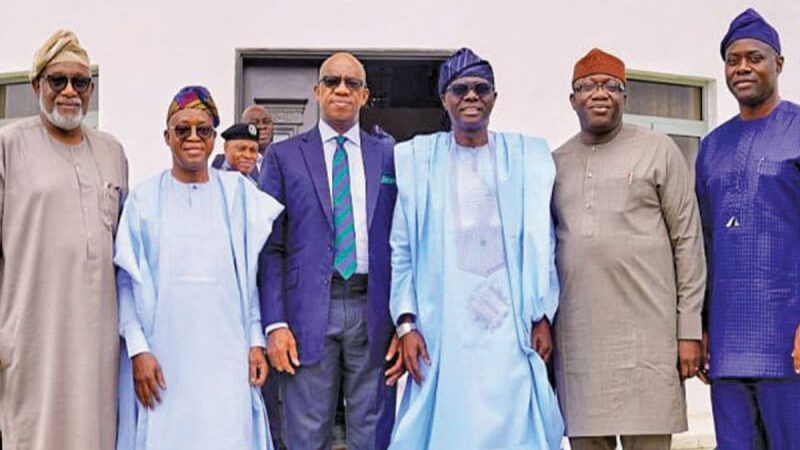 Constitution Review: Southwest Governors Demands Return To Regional Govt, Scrap Of States