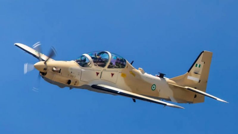 Just In: First Batch Of A-29 Tucano Departs US For Nigeria