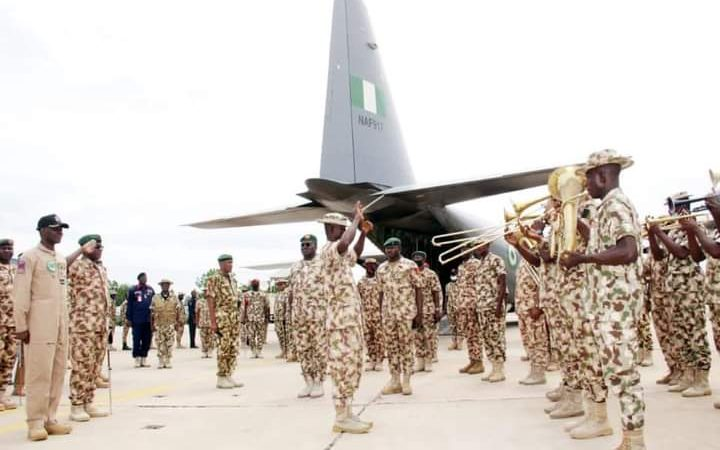 COAS Flags Off Welfare Flight For Troops